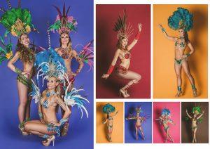 Pokazy taneczne samba brazylijska